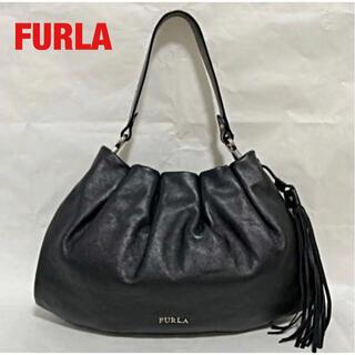 Furla - 【高級】FURLA フルラ 2WAYバッグ ハンドバッグ レザー 巾着 タッセル