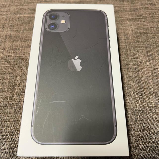 iPhone(アイフォーン)のiPhone11 128GB SIMフリー ブラック スマホ/家電/カメラのスマートフォン/携帯電話(スマートフォン本体)の商品写真