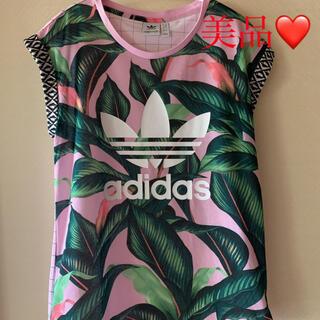 adidas - 美品❤️アディダス オリジナルス Tシャツ♪ボタニカル 花柄 フラワー リタオ