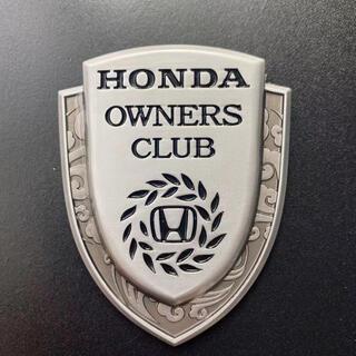 本田 Honda owners club ステッカー シルバー