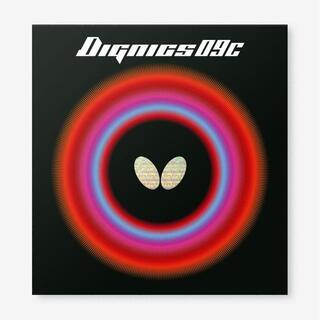 バタフライ(BUTTERFLY)の【2枚セット】ディグニクス09C 黒 特厚 Butterfly(卓球)