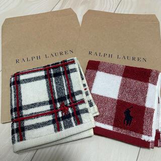 ラルフローレン(Ralph Lauren)のラルフローレン ミニタオル チェックセット(タオル/バス用品)