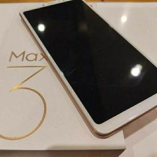 ANDROID - Xiaomi(シャオミ)Mi Max3大画面6.9inchステレオスピーカー美品