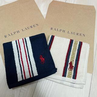 ラルフローレン(Ralph Lauren)のラルフローレン ミニタオル ストライプセット(タオル/バス用品)