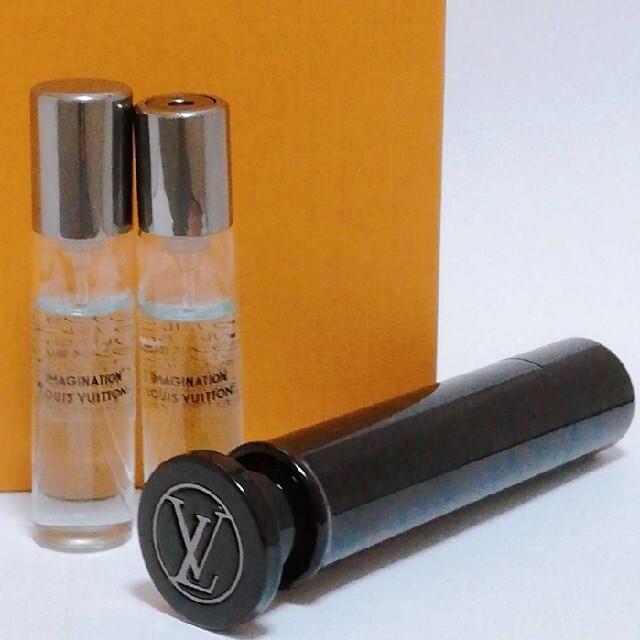 LOUIS VUITTON(ルイヴィトン)の新作 ルイヴィトン トラベルスプレー アトマイザーとイマジナション7.5ml香水 コスメ/美容の香水(ユニセックス)の商品写真