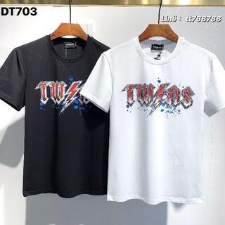 ディースクエアード(DSQUARED2)のDSQUARED2(#157)2枚9000 Tシャツ 半袖 M-3XLサイズ選択(その他)