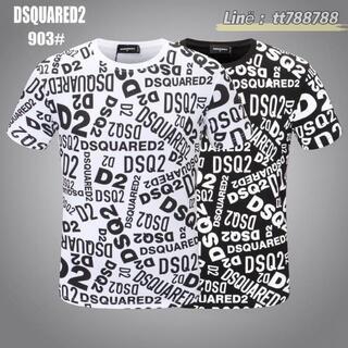 ディースクエアード(DSQUARED2)のDSQUARED2(#158)2枚9000 Tシャツ 半袖 M-3XLサイズ選択(その他)