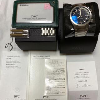 インターナショナルウォッチカンパニー(IWC)の正規品 IWC アクアタイマーIW354805 メンズ41ミリ(腕時計(アナログ))