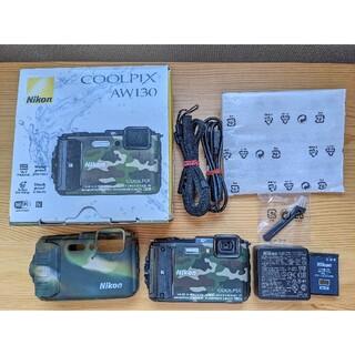 Nikon - Nikon COOLPIX AW130 【防水カメラ】