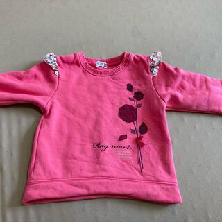 ラグマート(RAG MART)のラグマート トレーナー 100サイズ ローズ ピンク(Tシャツ/カットソー)