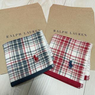 ラルフローレン(Ralph Lauren)のラルフローレン ミニタオル チェック柄セット(タオル/バス用品)