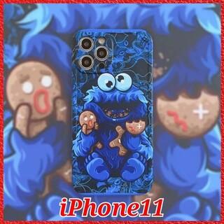iPhone - iPhone11 ケース【セサミストリート クッキーモンスター】オシャレ 大人気