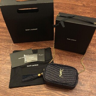 Yves Saint Laurent Beaute - 最終値下げ☆サンローラン チェーンショルダーバッグ