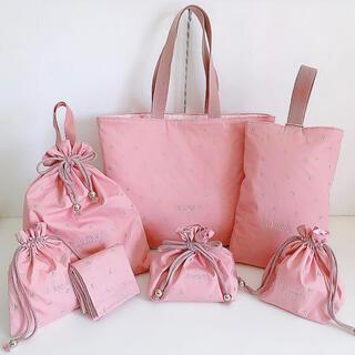 STAR ピンク 入学セット 入園セット レッスンバッグ(バッグ/レッスンバッグ)