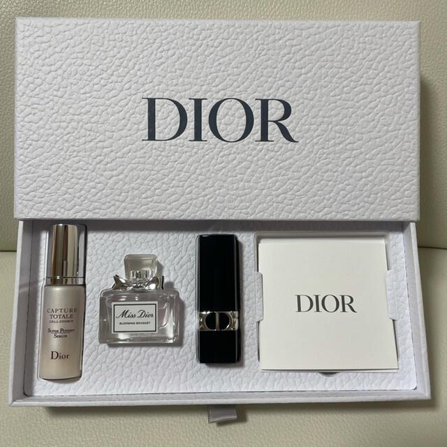 Dior(ディオール)のDIOR 誕生日ノベルティ コスメ/美容のキット/セット(コフレ/メイクアップセット)の商品写真