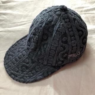フィラ(FILA)のFILA キャスケット 帽子 キャップ(キャップ)