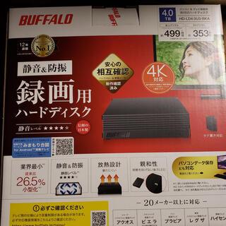 Buffalo - バッファロー 外付けハードディスク 4TB