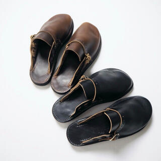 FERNAND LEATHER CLOG ブラック size 7E