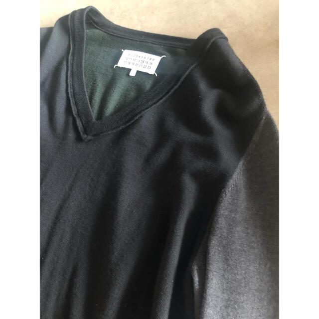 Maison Martin Margiela(マルタンマルジェラ)の新品⭐︎マルジェラ⭐︎ニット⭐︎ブラック⭐︎Margiela メンズのトップス(ニット/セーター)の商品写真