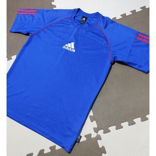 adidas - ☆ATS-829 アディダス トレーニングシャツ 青 サイズ L