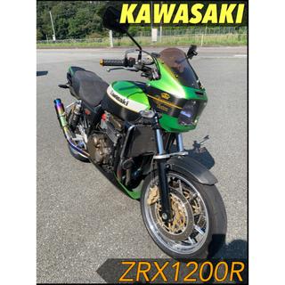 カワサキ - KAWASAKI ZRX1200R 大型バイク カワサキ 1200cc 状態良好