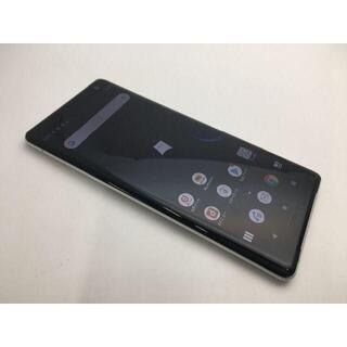 ソニー(SONY)の562 SIMフリー良品docomo Xperia XZ3 SO-01Lホワイト(スマートフォン本体)
