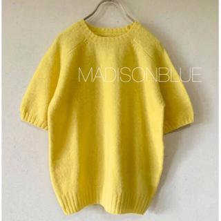 マディソンブルー(MADISONBLUE)の新品未使用  MADISONBLUE  シェットランドウールニット 00(ニット/セーター)
