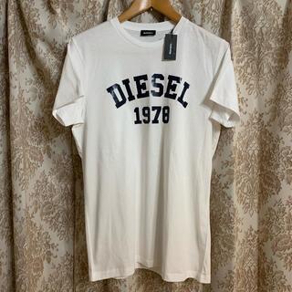DIESEL - 新品未使用 DIESEL ディーゼル 大人気 ロゴ Tシャツ 白