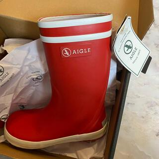 AIGLE - AIGLE レインブーツ16センチ
