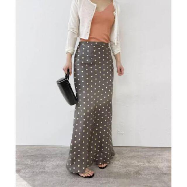 EDIT.FOR LULU(エディットフォールル)のエディットフォールル36 ドットスカート レディースのスカート(ロングスカート)の商品写真