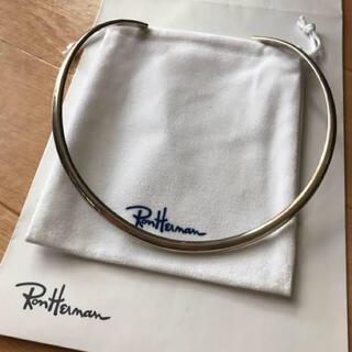 ロンハーマン(Ron Herman)のRon Herman シルバー ネックカフ チョーカー(ネックレス)