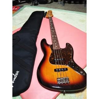 フェンダー(Fender)のクーポン価格中古美品 上位モデルFender JAZZベース JB62−DMC(エレキベース)