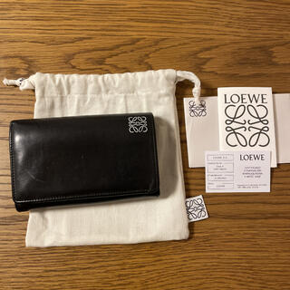 LOEWE - LOEWE 二つ折り 財布※使用感あり
