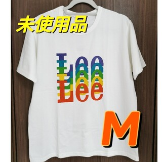 Lee - 【Lee】 未使用 タグ付き メンズ 白 ロゴTシャツ M