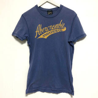 アバクロンビーアンドフィッチ(Abercrombie&Fitch)のアバクロ Tシャツ 美品 人気モデル 即完 レア アメリカ購入(Tシャツ/カットソー(半袖/袖なし))