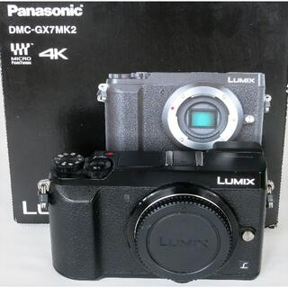 Panasonic - 極美品 Panasonic DMC-GX7MK2 ボディ