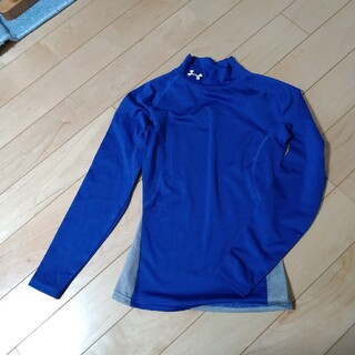 アンダーアーマー(UNDER ARMOUR)のUNDER ARMOUR 長袖 青色 (Tシャツ/カットソー)