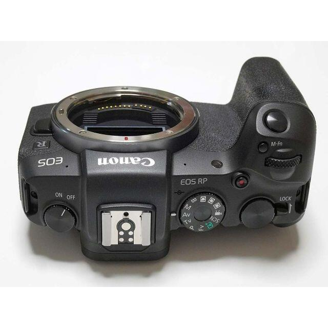Canon(キヤノン)の【保証2年】EOS RP 革製ケース、予備純正バッテリー付 スマホ/家電/カメラのカメラ(ミラーレス一眼)の商品写真