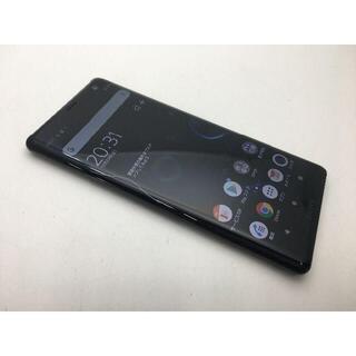 ソニー(SONY)の539 SIMフリー美品au Xperia XZ3 SOV39 ブラック(スマートフォン本体)
