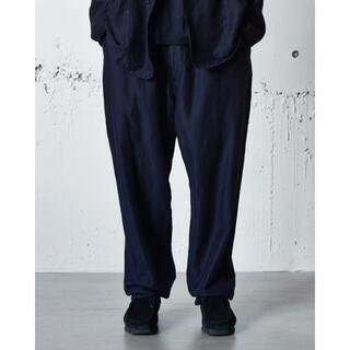 コモリ(COMOLI)の0724様専用 comoli ウールシルクドローストリングパンツ(スラックス)