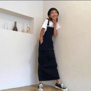 SeaRoomlynn - シールームリン サロペットスカート BLACK Msize