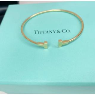Tiffany & Co. - ティファニー T ナロー ワイヤー ブレスレット バングル