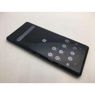 ソニー(SONY)の561 SIMフリー良品docomo Xperia XZ3 SO-01Lブラック(スマートフォン本体)