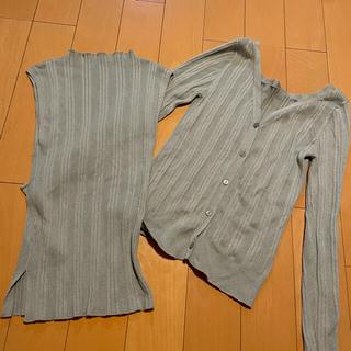 フレイアイディー(FRAY I.D)のスカートとトップス2点セット(セット/コーデ)