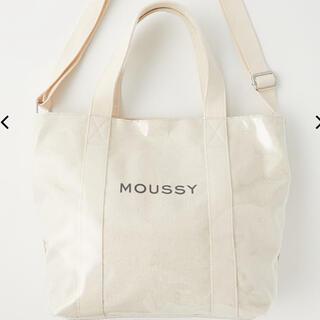 moussy - MOUSSY PVC CANVAS トートバッグ