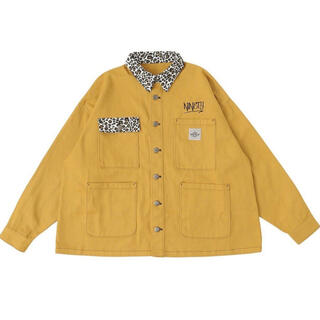 carhartt - 9090 animal coveralls jacket イエロー M