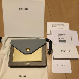 celine - 新品*CELINE セリーヌ 旧ロゴ カードケース