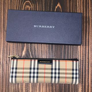 バーバリー(BURBERRY)のBURBERRY バーバリー ペンケース ノバチェック 筆箱 小物入れ(ペンケース/筆箱)