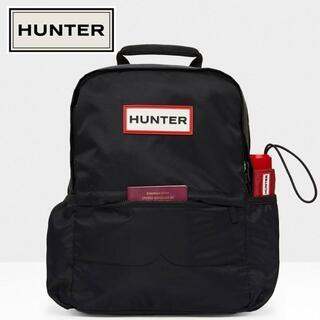 ハンター(HUNTER)の【新品】HUNTER ハンター バックパック デイパック ブラック(リュック/バックパック)