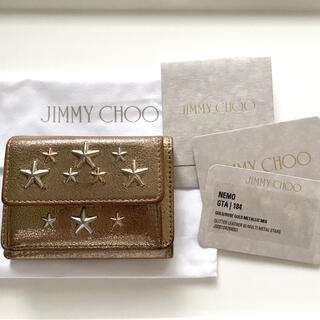 JIMMY CHOO - JIMMY CHOO/三つ折り財布 NEMO GTA